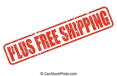 francobollo, libero, tex, t, spedizione marittima, più, ...