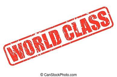 francobollo, mondo, classe, rosso, testo