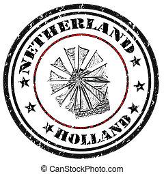 francobollo, olanda