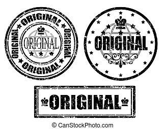 francobollo, originale