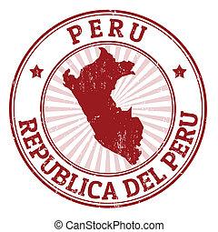 francobollo, perù
