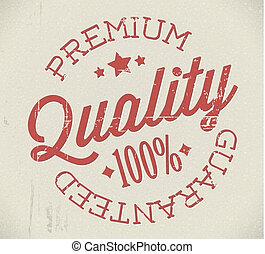francobollo, premio, vettore, qualità, retro