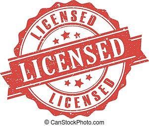 francobollo, prodotto, concesso in licenza