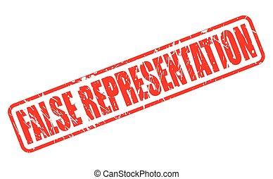 francobollo, rappresentazione, falso, rosso, testo