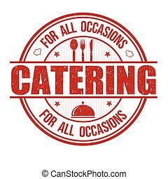 francobollo, ristorazione