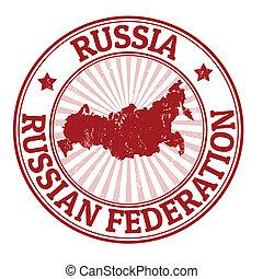 francobollo, russia