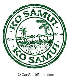 francobollo, samui, ko