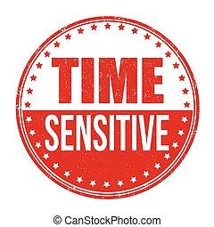 francobollo, sensibile, tempo
