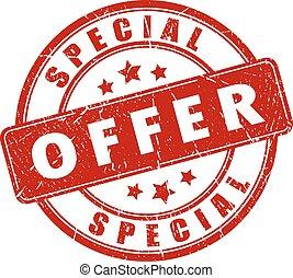 francobollo, speciale, offerta