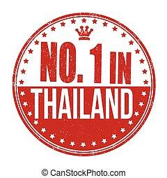 francobollo, tailandia, numero