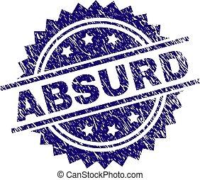 francobollo, textured, grunge, assurdo, sigillo
