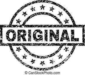 francobollo, textured, grunge, originale, sigillo