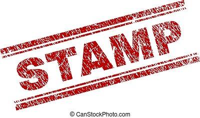 francobollo, textured, grunge, sigillo