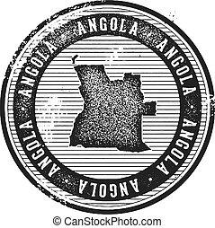 francobollo, vendemmia, angola, turismo, paese