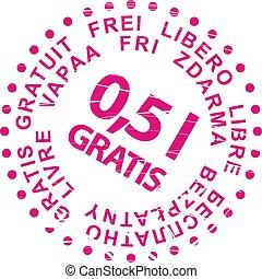 francobollo, vendita, gratis