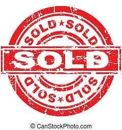 francobollo, venduto