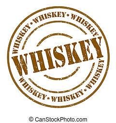 francobollo, whisky