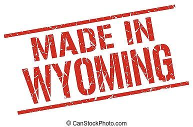 francobollo, wyoming, fatto