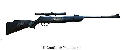 francotirador, rifle