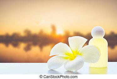 frangipani, bloem, plumeria, spa