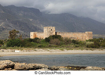 Frangocastello castle south Crete