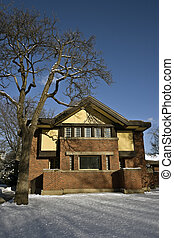 Frank Lloyd\'s house in Oak Park