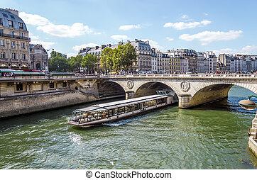 frank, toerist, restaurant, parijs, zegen, lux cruisen, ...