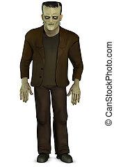 Frankenstein, caricatura
