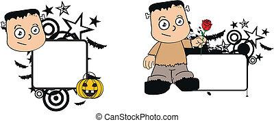 frankenstein, geitje, halloween1