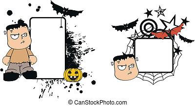 frankenstein, geitje, halloween2