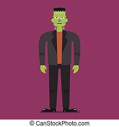Frankenstein Halloween character