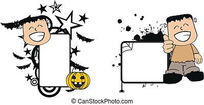 Frankenstein kid halloween4