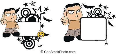 Frankenstein kid halloween6
