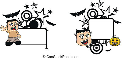 Frankenstein kid halloween7