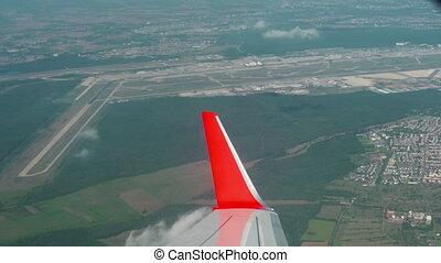 Frankfurt Airport aerial - View of the Frankfurt airport...