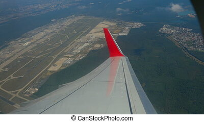 Frankfurt Airport - View of the Frankfurt airport from the...