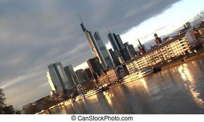 Frankfurt Germany Skyline pan