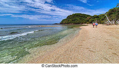 Frankland Island in tropical North Queensland Australia