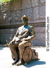 Franklin Delano Roosevelt Memorial Washington - Franklin...