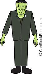franknstein, cartone animato
