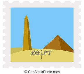 franqueo, obelisco