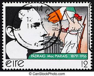 franqueo, pearse, 1979, estampilla, patrick, irlanda, henry