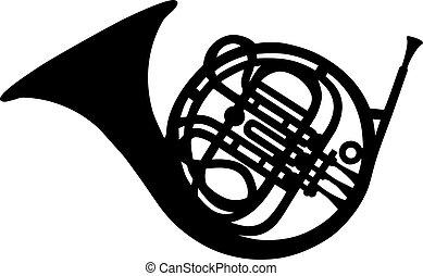 fransk horn