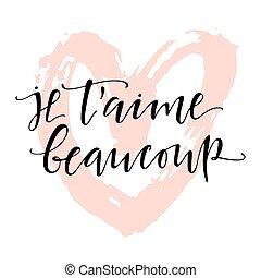 jeg elsker dig fransk