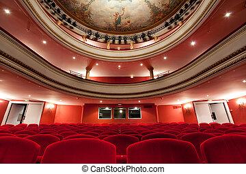 fransk, klassisk, teater