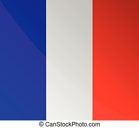 französische markierungsfahne