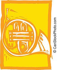 französisches horn
