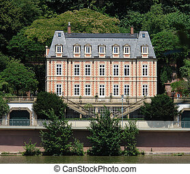franzoesisch, chateau, d