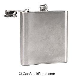 frasco quadril, branca