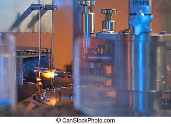 frasco vidrio, fabricación